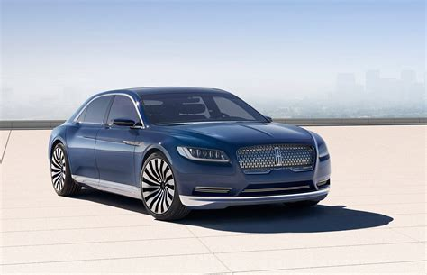 lincoln car lincoln continental concept car brings a touch of europe