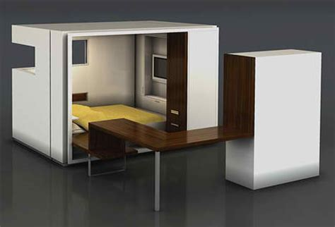 folding bedroom furniture fold out room 12 ultra compact living pods systems