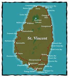 map st vincent and the grenadines maps of st vincent and the grenadines bill tewes dive st vincent st vincent and the