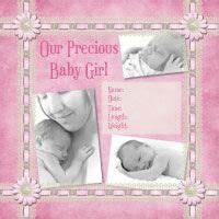 scrapbook layout ideas for baby girl 1000 images about baby girl scrapbook on pinterest baby