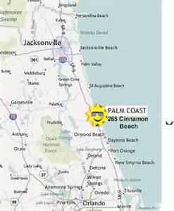 palm coast map cinnamon map