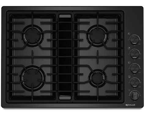 downdraft ventilation cooktop jenn air jgd3430bb 30 quot jx3 downdraft gas cooktop