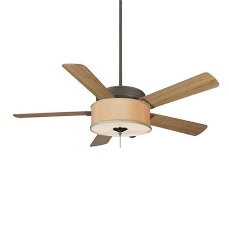 ceiling fan with drum shade light drum shade energy efficient fan light kit available in 2 colors hone