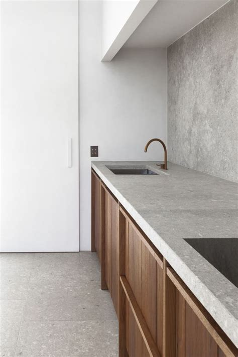 Concrete Countertop Backsplash by 25 Concrete Kitchen Backsplashes With Pros And Cons Digsdigs