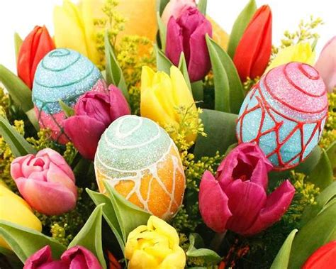 fiori pasquali easter flowers bouquet decorations with colorful flowers