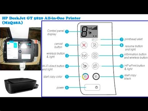 Hp Deskjet Gt 5820 E All In One Printer Infus Ori hp deskjet gt 5820 all in one printer m2q28a