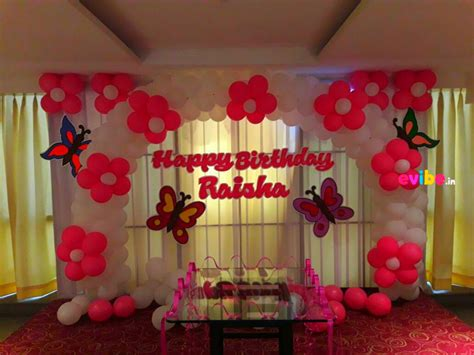 How To Make Decoration At Home Top 8 Simple Balloon Decorations For Birthday At Home In Hyderabad