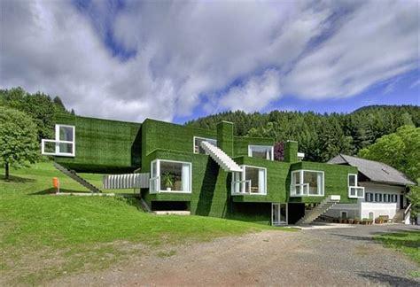 building a green home green facade house in austria