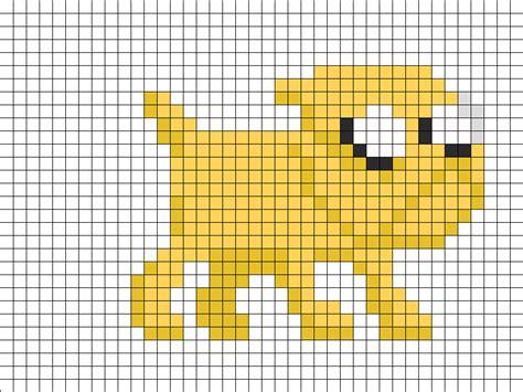 8 bit jake perler bead pattern bead sprites characters