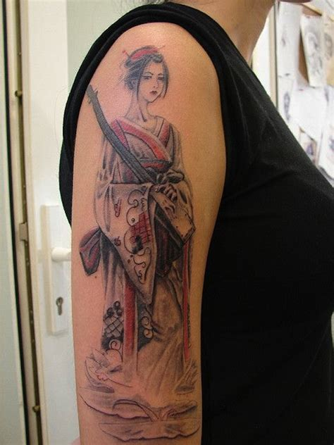 Tattoo Geisha Arm | 128 best geisha tattoos