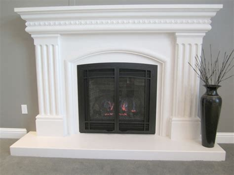 Custom Fireplace Surround by Custom Fireplace Mantels By Artisan Mantels