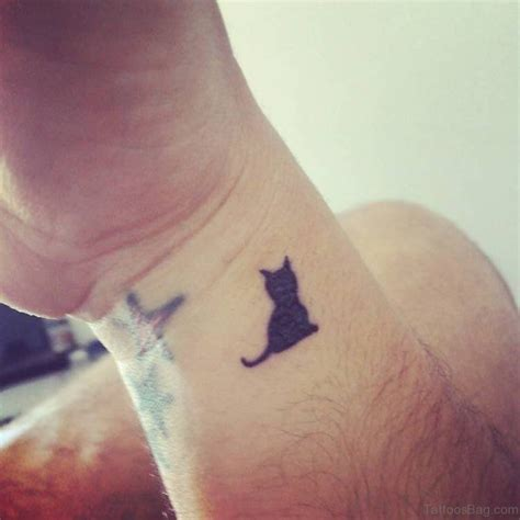 tattoo cat on wrist 31 cute cat tattoos for wrist