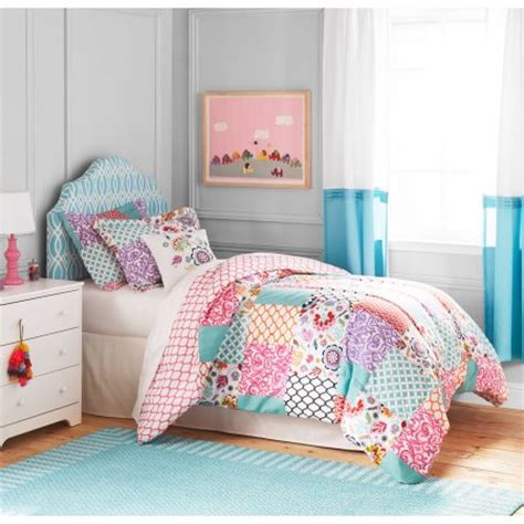 Childrens Patchwork Bedding - better homes and gardens boho patchwork bedding