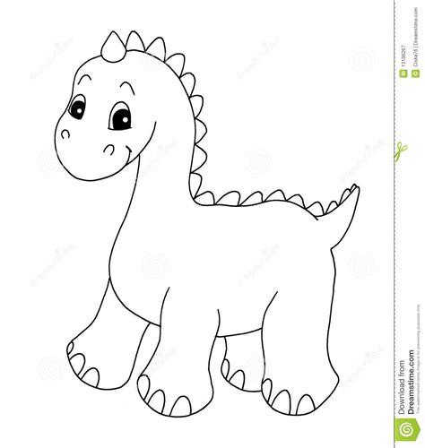 Dinosaur Clipart Black And White