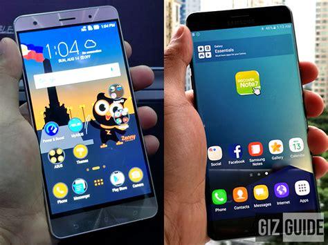 Samsung Zenfone 7 asus zenfone 3 deluxe special edition vs samsung galaxy note 7 specs comparison