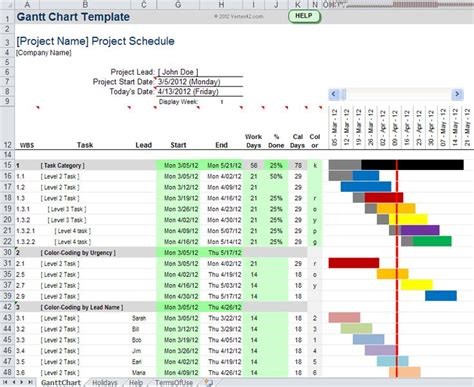 project 2007 templates 25 best ideas about planning gantt on gantt
