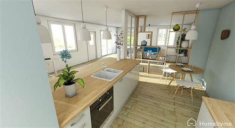 mod鑞e de cuisine ouverte emejing maison cuisine ouverte verriere ideas design