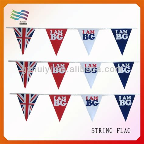 String Triangle - string flags triangle flag fabric bunting hanging flags