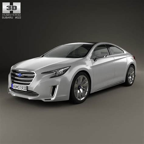 subaru legacy concept subaru legacy concept 2015 3d model humster3d