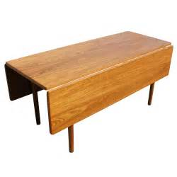 mid century modern drop leaf dining table ebay