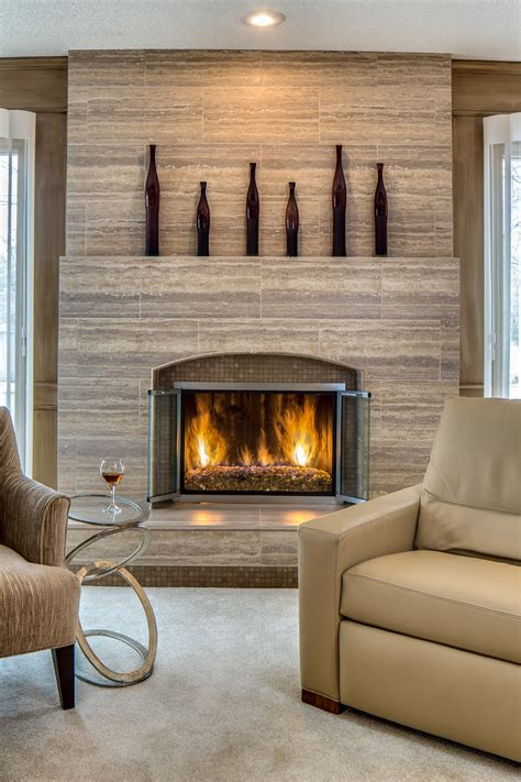 Before And After Fireplace Remodel by Fireplace Before After Transformations From Our Design