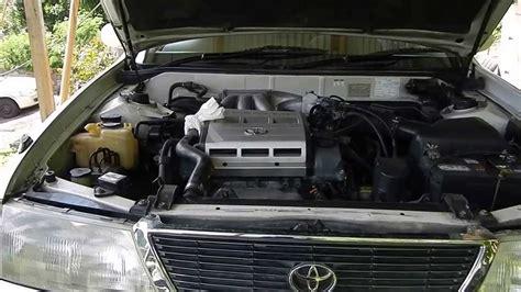 how cars engines work 1996 toyota avalon spare parts catalogs 1997 toyota avalon 1mz fe engine mounts youtube