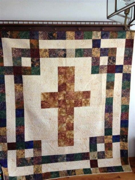 quilt pattern cross cross quilt quilts pinterest