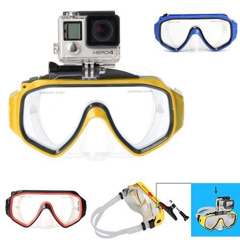 Kamera Gopro 3 Plus k 248 b dykning briller bracket holder mount kamera tilbeh 248 r