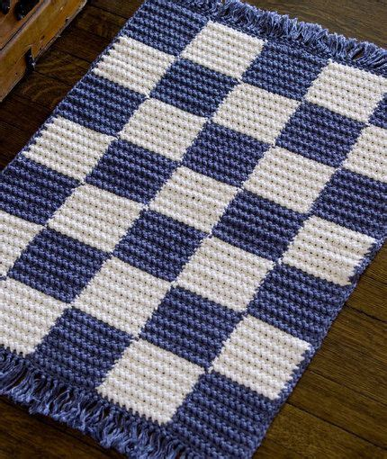 free crochet patterns for rugs crochet checkerboard rug crochet pattern crochet knit ideas patterns