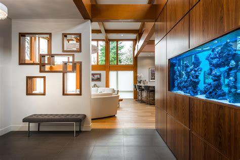 energy efficient west coast modern home  british
