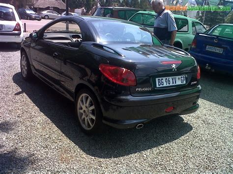 peugeot cars south africa 2007 peugeot 206 2 0 cc used car for sale in kempton park