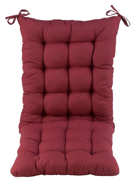 microfiber rocking chair cushion set by oakridgetm ebay