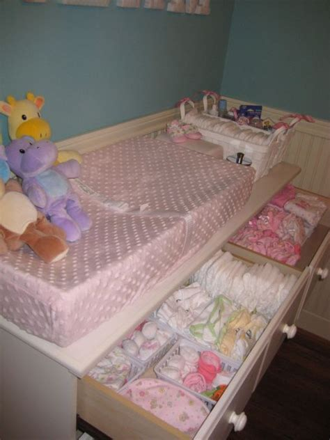 Organizing Nursery Dresser by 17 Best Ideas About Baby Dresser On Nursery