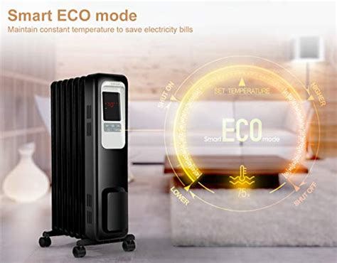 deal aikoper space heater  oil filled radiator