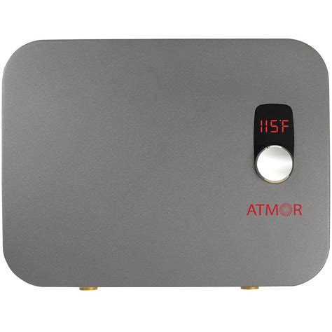 Atmor Instant Water Heater atmor thermopro 18 kw 240 volt 3 7 gpm digital