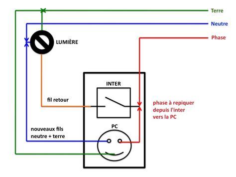 Branchement Ventilateur De Plafond Avec Lumière by Bricovid 233 O Forum 233 Lectricit 233 Comment Installer Une Prise