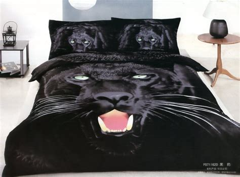 aliexpress com buy 3d black panther leopard print