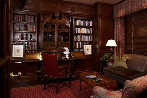 home office library for the home pinterest english library style home office for the library