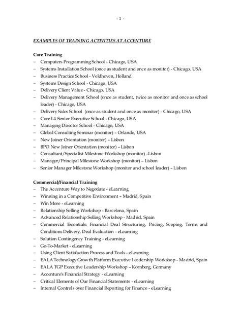 sle cv for voice and accent trainer sle resume for cus 28 images sle resume computer