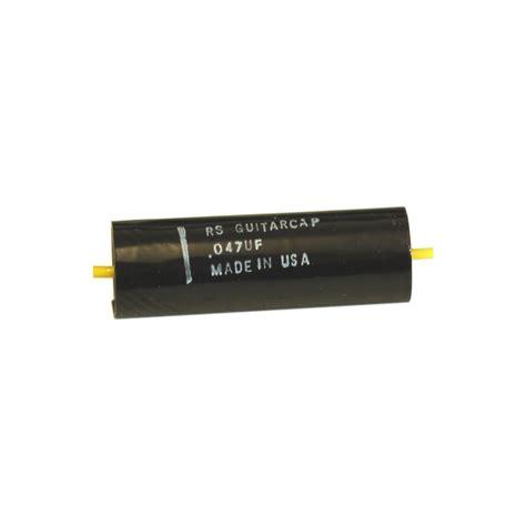 rs capacitors rs guitarworks rs guitarcaps 047 capacitor rs guitarworks from wd uk