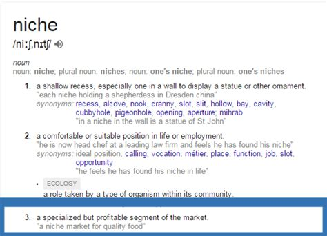 adsense meaning image gallery niche meaning