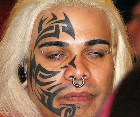 mike tyson tribal face tattoo cool tattoos