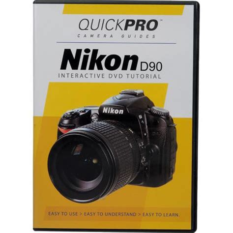 tutorial fotografi nikon d90 quickpro dvd nikon d90 tutorial 1260 b h photo video