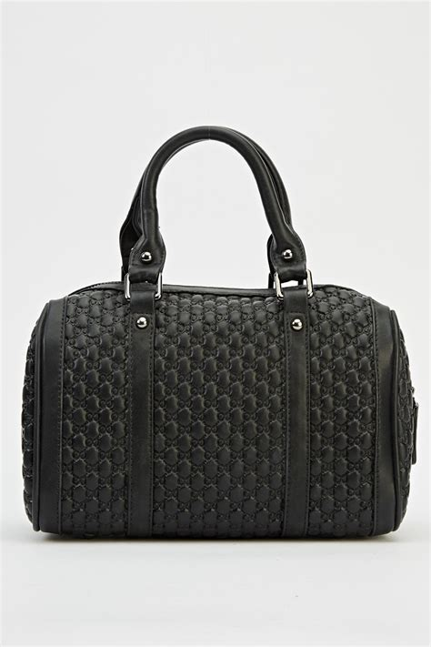 Embossed Faux Leather Handbag embossed faux leather handbag 3 colours just 163 5