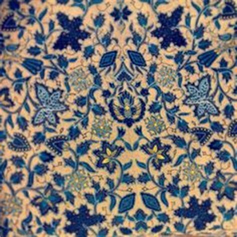 Ransel Motif Batik Navy floral tulis batik on navy blue background from java indonesia motif batik