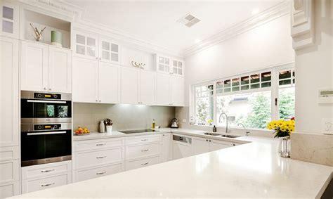 Gray Caesarstone Kitchen by Interior Rejuvenations 5000 Grey Caesarstone