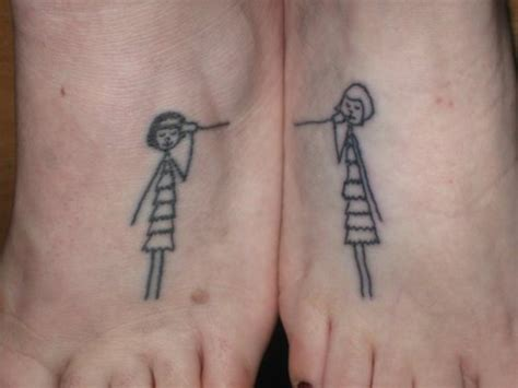 funny best friend tattoos matching best friend busbones