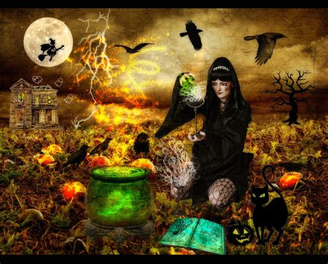 spooky scary halloween wallpapers  desktop entertainmentmesh