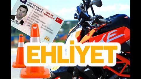 motosiklet ehliyet sinavi deneyimleri youtube