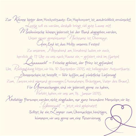 Hochzeitseinladung Informationen by Einlagekarten Florale Elemente In Flieder